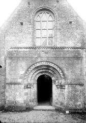 Eglise de Bons - Façade ouest