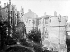 Ancien Palais des Comtes de Poitiers - Grande salle et tour Maubergeon, à l'est