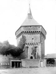 Château - Pont-levis, côté ouest