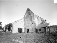 Ancienne abbaye Sainte-Marie - Eglise : Ensemble sud-ouest