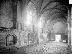 Ancienne abbaye Sainte-Marie - Eglise : Vue intérieure