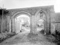 Ancienne abbaye Sainte-Marie - Porterie