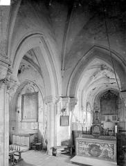 Eglise du Breuil - Vue intérieure du choeur