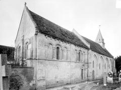 Eglise d'Ouézy - Ensemble nord-est