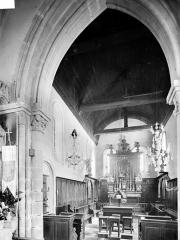 Eglise d'Ouézy - Vue intérieure du choeur