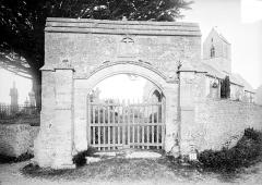 Cimetière de Marigny - Porte