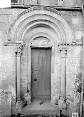 Eglise d'Ouézy - Petit portail