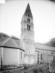 Eglise de Parfouru-l'Eclin - Façade nord : clocher