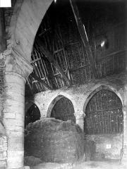 Ancienne grange aux dîmes - Vue intérieure
