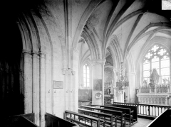 Eglise - Vue intérieure du chœur, vers le nord-est