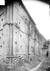 Ancienne chapelle Sainte-Christine - Façade nord en persepctive