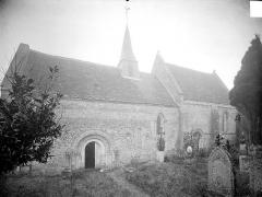Eglise d'Aizy - Ensemble sud