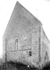 Eglise d'Aizy - Façade ouest