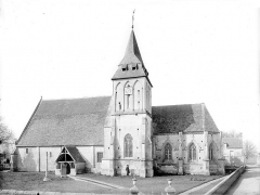 Eglise Saint-Hilaire - Ensemble sud