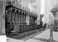 Cathédrale Notre-Dame - Stalles, côté sud