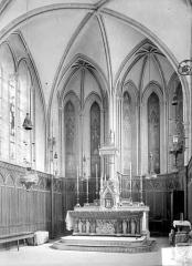 Ancien séminaire - Vue intérieure de la chapelle