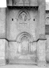 Ancienne église Saint-Gerbold - Petit portail
