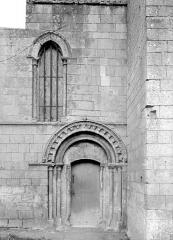 Eglise - Petit portail de la façade nord