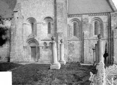 Eglise Saint-Hilaire£ - Façade sud