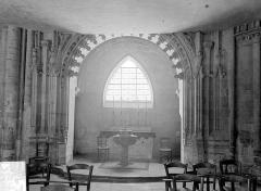 Eglise Saint-Gervais-Saint-Protais - Vue intérieure de la chapelle des fonts baptismaux