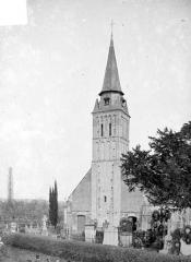 Eglise - Clocher, côté ouest