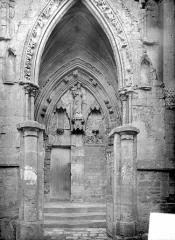 Eglise de Norrey-en-Bessin - Porche et portail