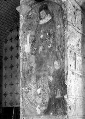 Eglise paroissiale Saint-Pierre - Peinture murale sur un pilier
