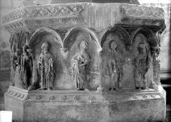 Eglise - Fonts baptismaux