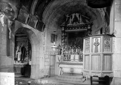 Ancienne abbaye de Moissac - Vue intérieure du chœur