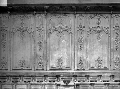 Cathédrale Notre-Dame - Stalles, trois travées, nord