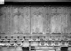 Cathédrale Notre-Dame - Stalles, trois travées, sud