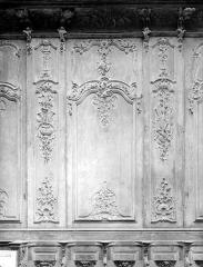 Cathédrale Notre-Dame - Stalles, premier panneau, nord