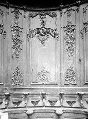 Cathédrale Notre-Dame - Stalles, sixième panneau, sud