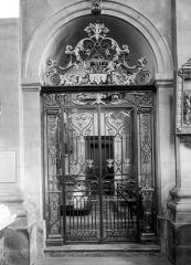 Eglise Notre-Dame ou de la Gloriette - Grille du choeur