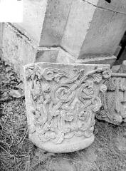 Ancien évêché - Chapiteau roman