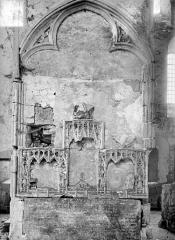Ancienne abbaye cistercienne de Clermont - Retable