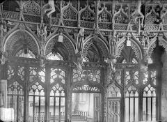Chapelle Saint-Fiacre - Jubé : Vue du côté de la nef