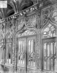 Chapelle Saint-Fiacre - Jubé : Porte