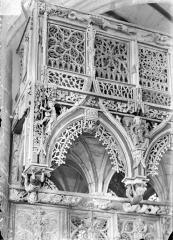 Chapelle Saint-Fiacre - Jubé : Détail d'un angle
