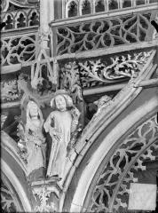 Chapelle Saint-Fiacre - Jubé. Ecoinçon : La Luxure