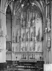 Ancienne cathédrale (église Notre-Dame) et ses annexes - Retable