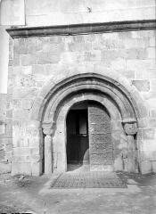 Eglise Saint-Martin d'Odeillo - Portail d'entrée
