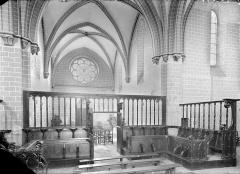 Abbaye de Notre-Dame-de-la-Roche - Stalles : vue d'ensemble