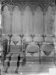 Cathédrale Saint-Pierre - Stalles : détail des travées