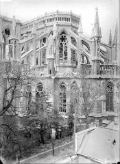 Cathédrale Notre-Dame - Chevet, côté sud-est