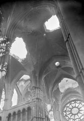 Cathédrale Notre-Dame - Voûtes de la croisée du transept, du choeur et transept sud