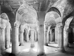 Cathédrale Saint-Bénigne - Crypte Saint-Bénigne : vue d'ensemble vers le sud-est