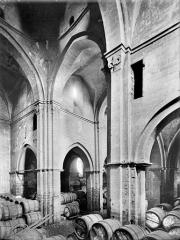 Eglise Saint-Philibert - Vue intérieure du transept, vers le sud-ouest