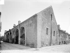 Abbaye de Clairvaux - Cellier : ensemble sud-ouest