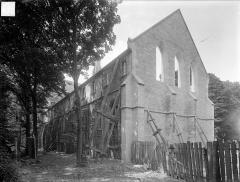 Ancienne abbaye Saint-Bénigne - Dortoir des moines bénédictins : ensemble nord-est